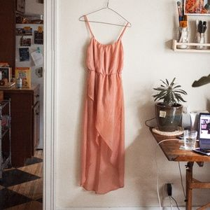 Poetry Blush High Low Dress
